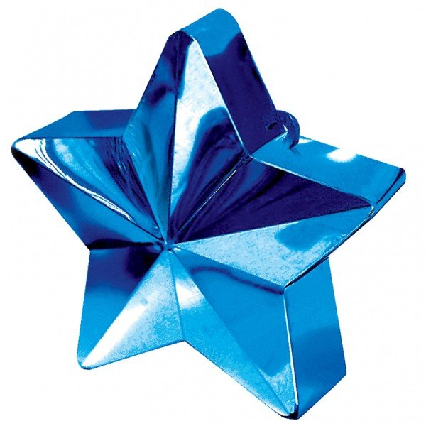 Amscan Star Balloon Weight - Blue