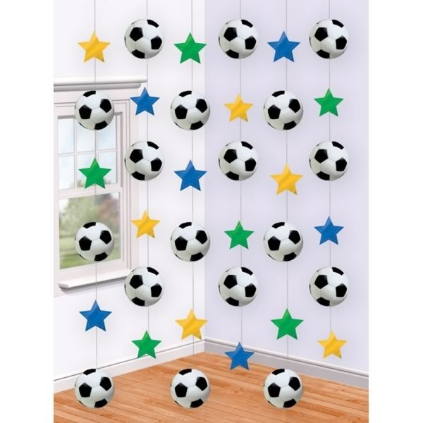 Amscan String Decoration - Soccer