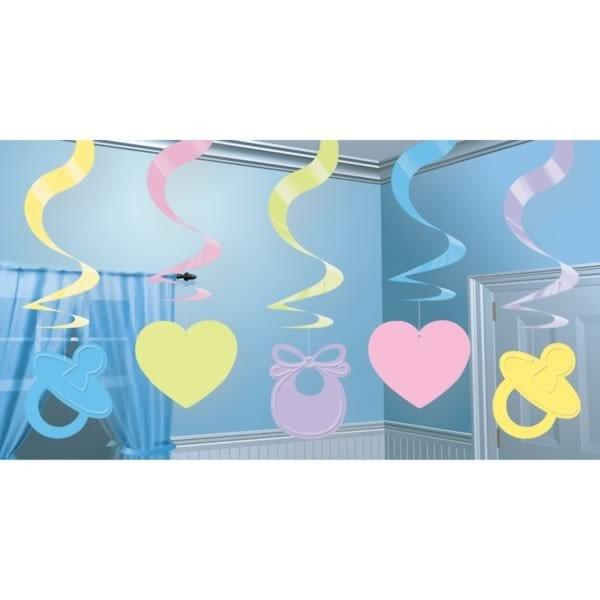 Amscan Swirl Decoration - Baby Shower
