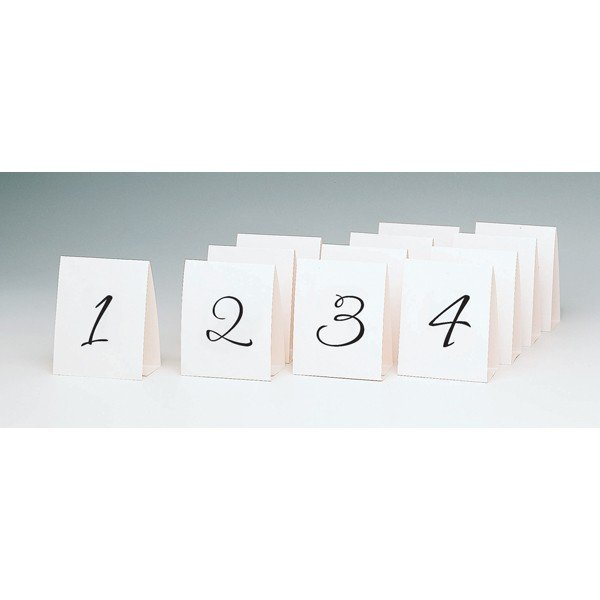 Amscan Table Number Placecards - 1 to 12