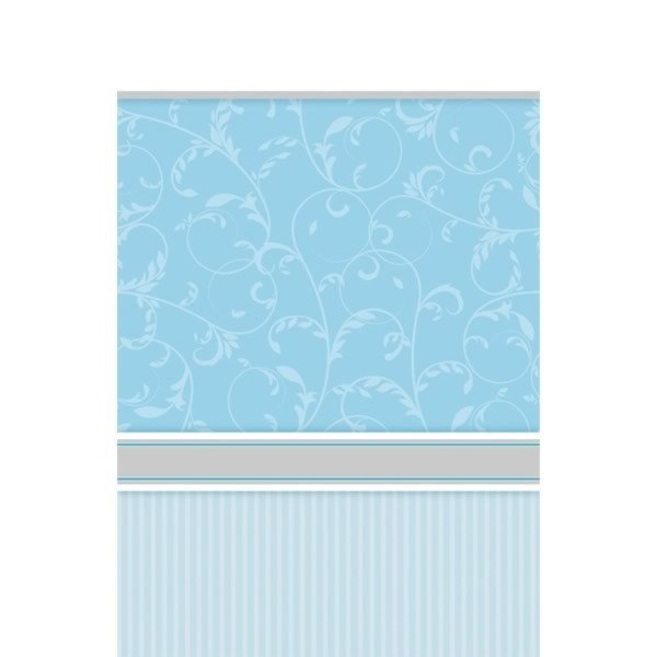 Amscan Tablecover - Communion Blessing Blue