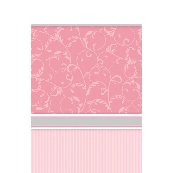 Amscan Tablecover - Communion Blessing Pink