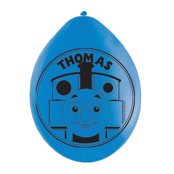 Amscan Thomas Tank Balloon Latex Balloons - Blue