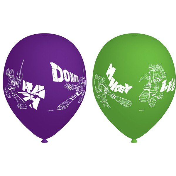 Amscan TMNT Latex Balloons - Assorted