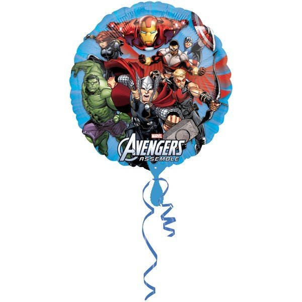 Anagram 18 Inch Circle Foil Balloon - Avengers