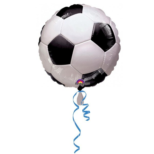 Anagram 18 Inch Circle Foil Balloon - Championship Soccer