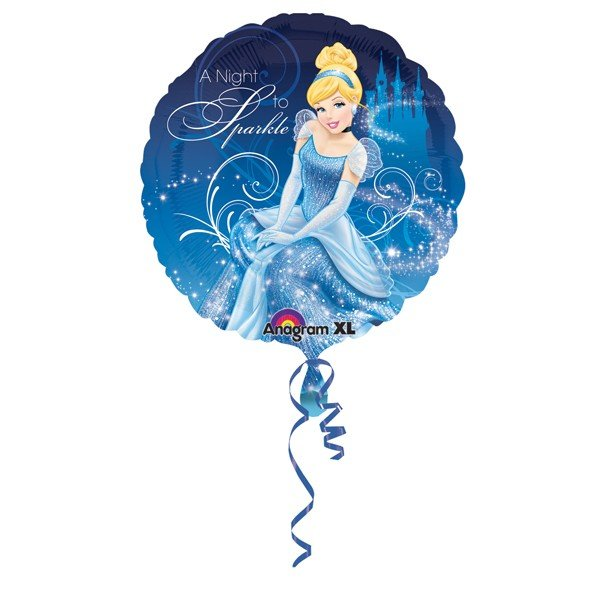 Anagram 18 Inch Circle Foil Balloon - Cinderella