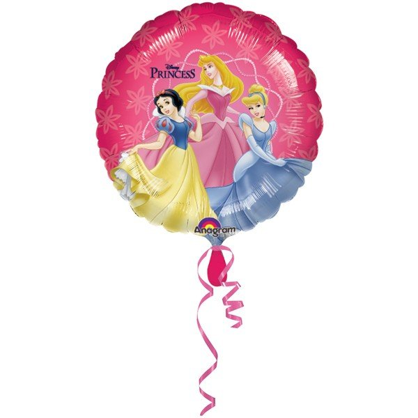 Anagram 18 Inch Circle Foil Balloon - Disney Princesses