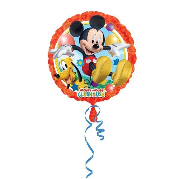 Anagram 18 Inch Circle Foil Balloon - Mickey & Pluto