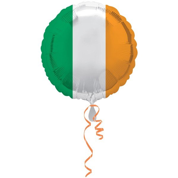 Anagram 18 Inch Circle Foil Balloon - Pride Passion Party Ireland Flag