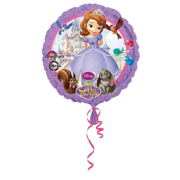 Anagram 18 Inch Circle Foil Balloon - Sofia