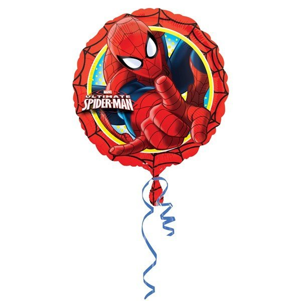 Anagram 18 Inch Circle Foil Balloon - Spiderman Action