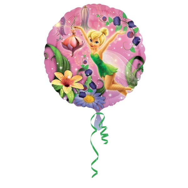 Anagram 18 Inch Circle Foil Balloon - Tinker Bell Character