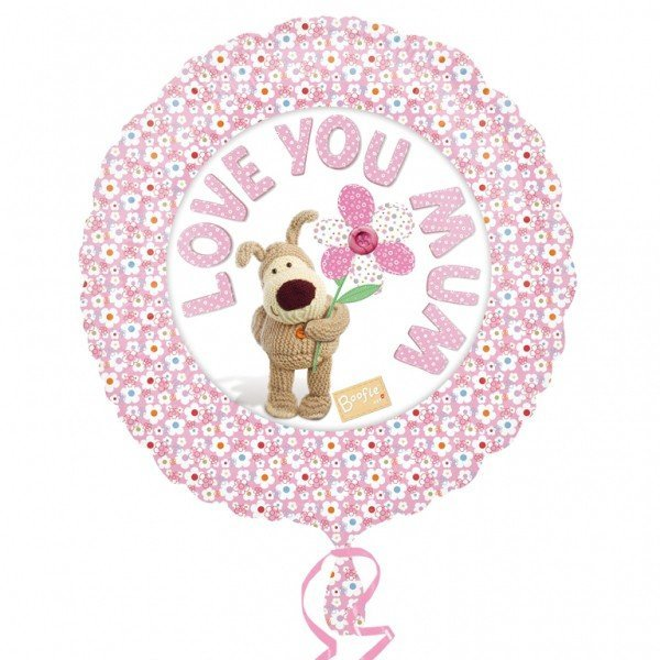 Anagram 18 Inch Foil Balloon - Boofle Love You Mum