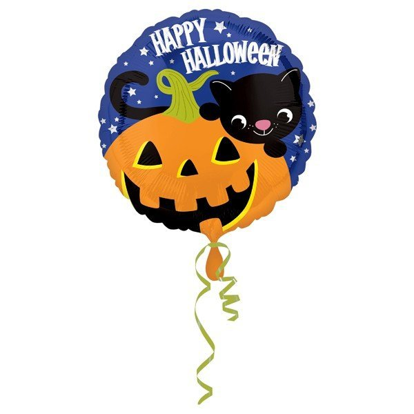 Anagram 18 Inch Foil Balloon - Halloween Kitty