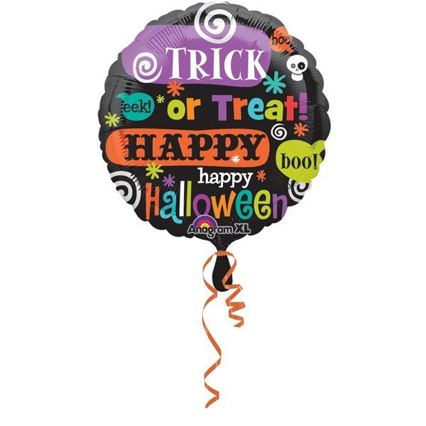 Anagram 18 Inch Foil Balloon - Halloween Messages