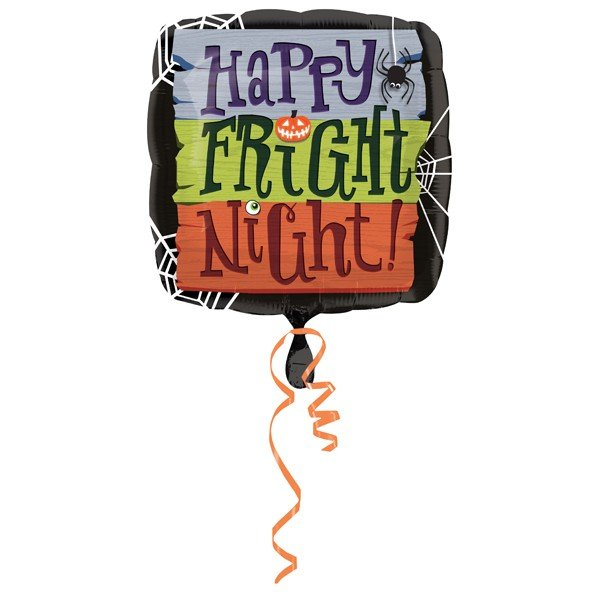 Anagram 18 Inch Foil Balloon - Happy Fright Night