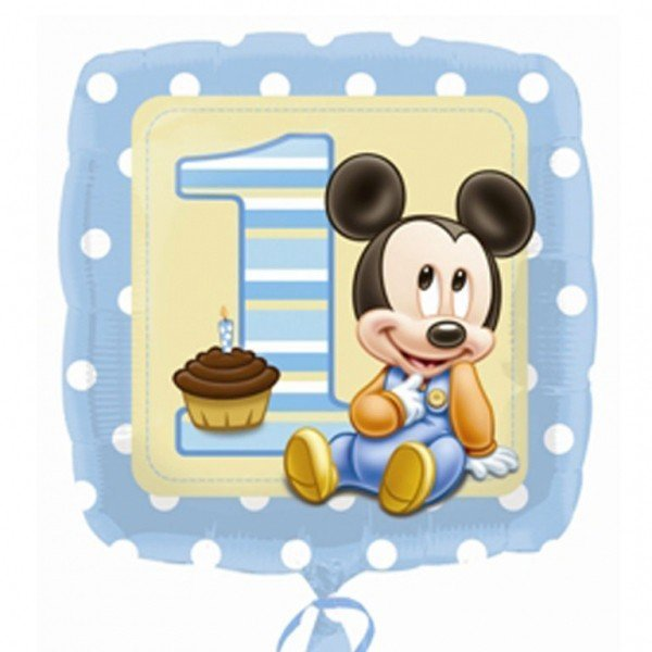 Anagram 18 Inch Foil Balloon - Mickey 1st Birthday