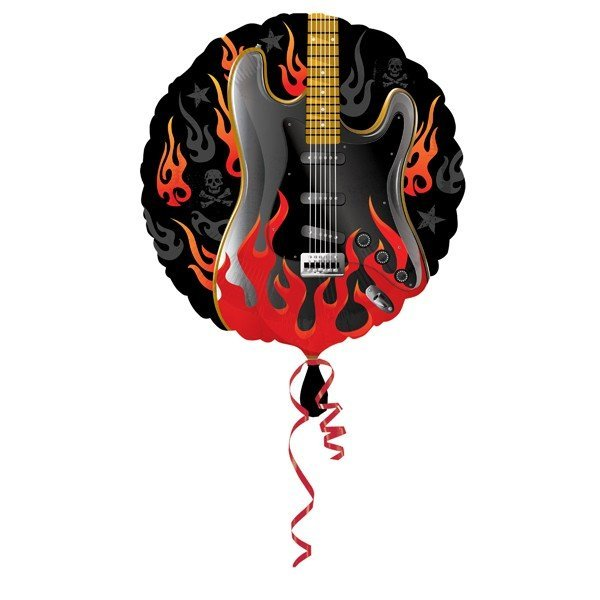 Anagram 18 Inch Foil Balloon - Rockstar Rock On