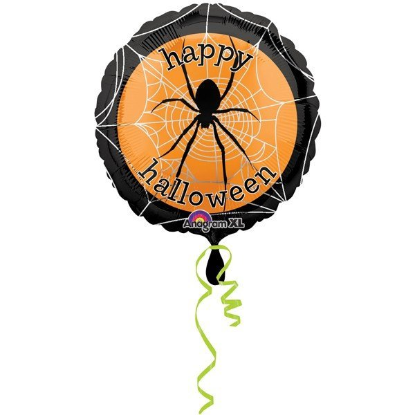 Anagram 18 Inch Foil Balloon - Spooky Spider Web