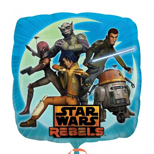 Anagram 18 Inch Foil Balloon - Star Wars Rebels 2 Sided