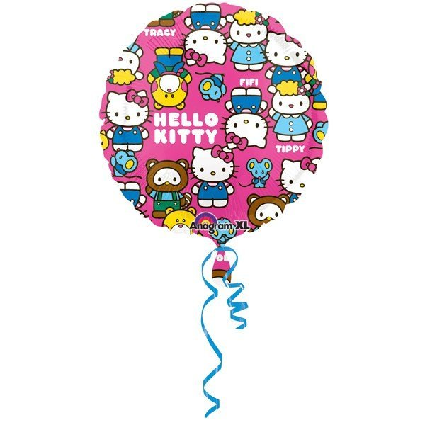 Anagram 18 Inch Magicolor Foil Balloon - Hello Kitty Characters