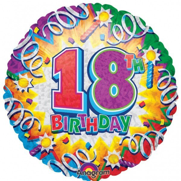 Anagram 18 Inch Met Foil Balloon - Birthday Explosion 18