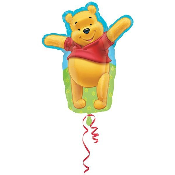 Anagram 18 Inch Shape Foil Balloon - Adorable Pooh