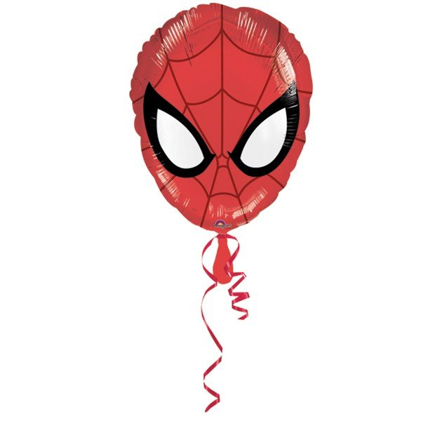 Anagram 18 Inch Shape Foil Balloon - Spiderman Head
