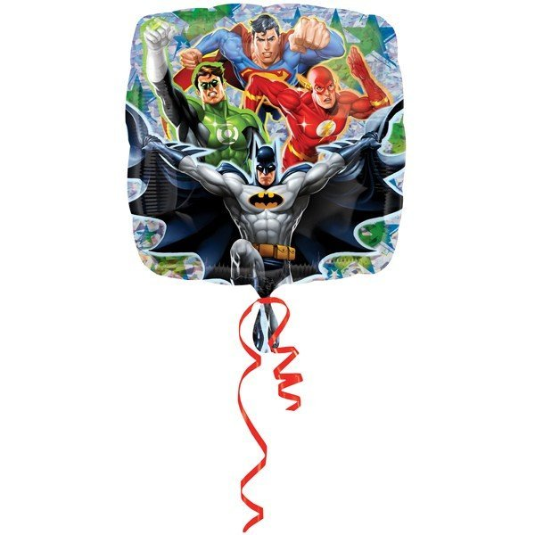 Anagram 18 Inch Square Foil Balloon - Justice League