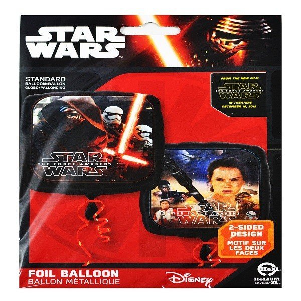 Anagram 18 Inch Square Foil Balloon - Star Wars Episode VII