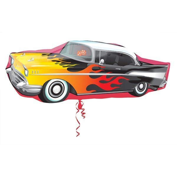 Anagram Supershape - 50s Rockin Car