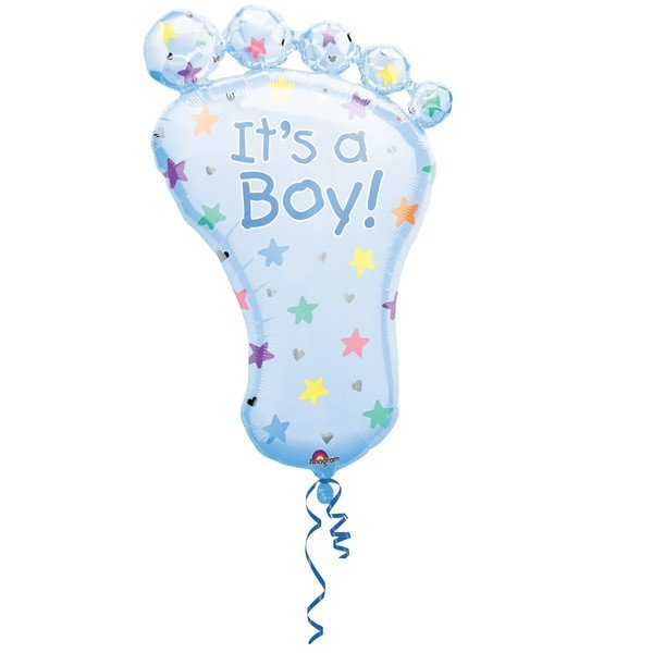 Anagram Supershape - Foot Its A Boy