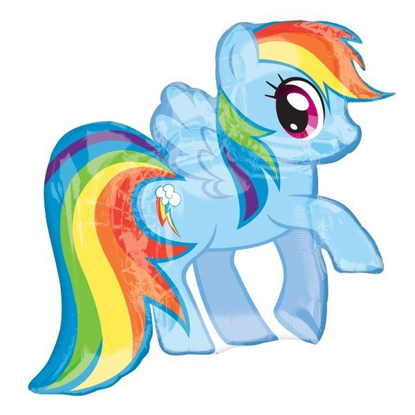 Anagram Supershape - My Little Pony Rainbow