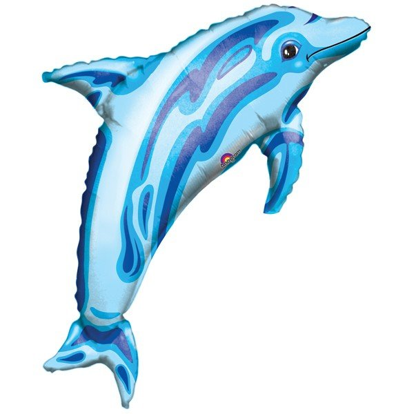 Anagram Supershape - Ocean Blue Dolphin