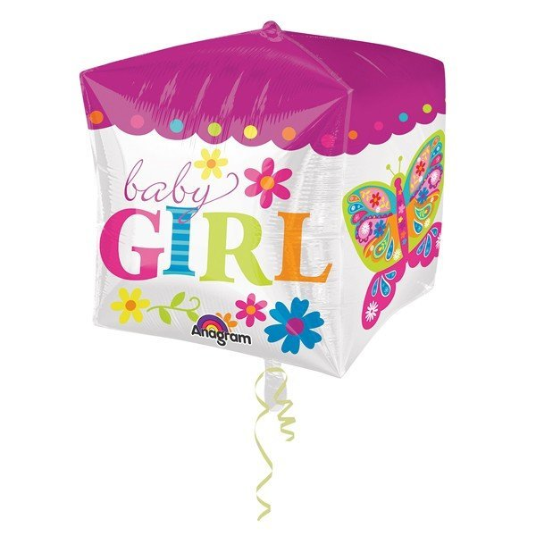 Anagram Supershape Cubez - Beautiful Baby Girl Block