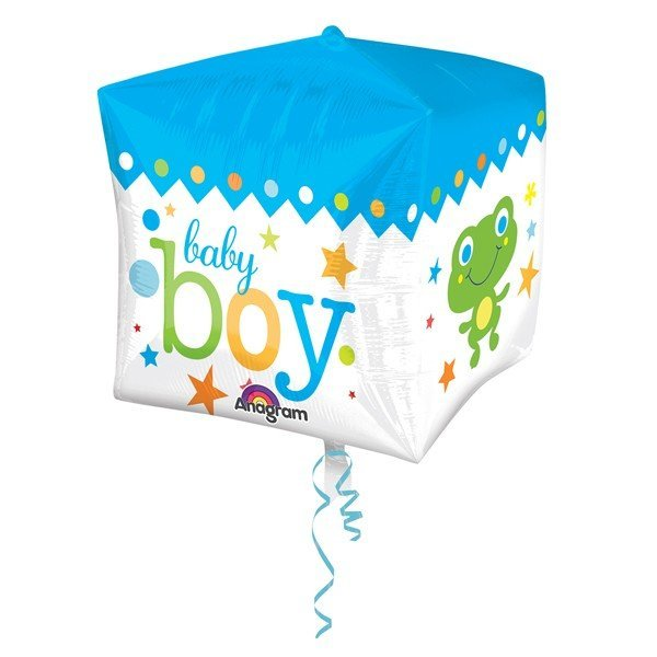 Anagram Supershape Cubez - Sweet Baby Boy Block