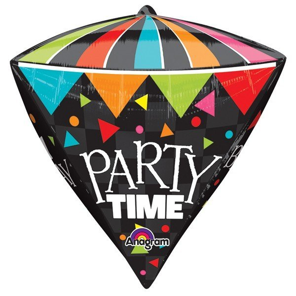 Anagram Supershape Diamondz - Cone Party Time