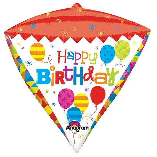 Anagram Supershape Diamondz - Geometric Birthday