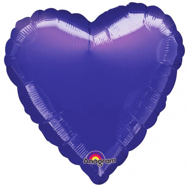 Anagram Supershape Heart - Purple