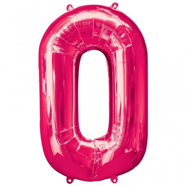 Anagram Supershape Number - 0 Pink
