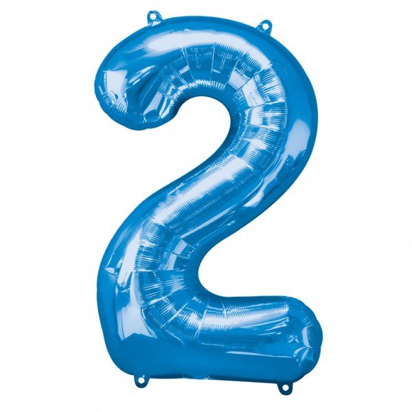 Anagram Supershape Number - 2 Blue