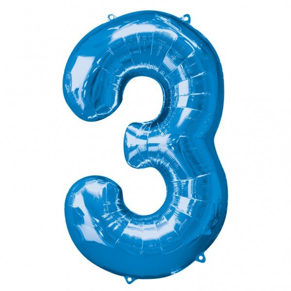 Anagram Supershape Number - 3 Blue