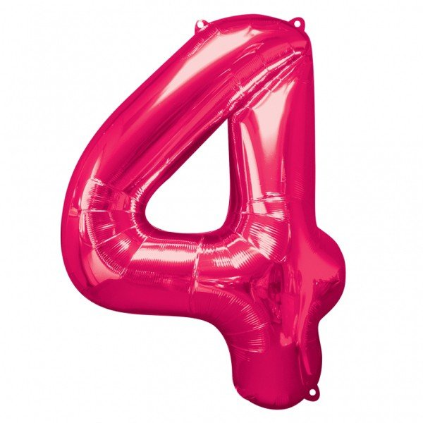 Anagram Supershape Number - 4 Pink