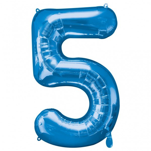 Anagram Supershape Number - 5 Blue