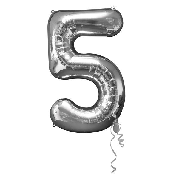 Anagram Supershape Number - 5 Silver
