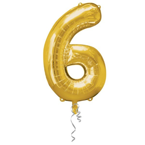 Anagram Supershape Number - 6 Gold