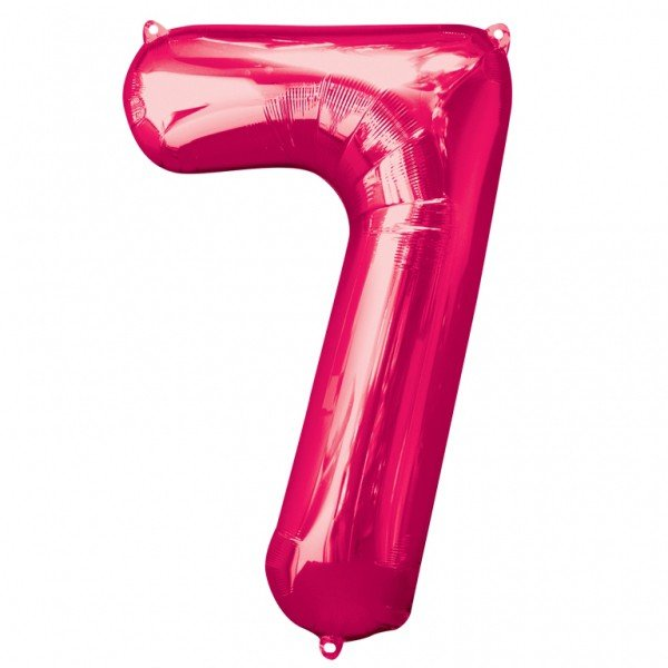 Anagram Supershape Number - 7 Pink