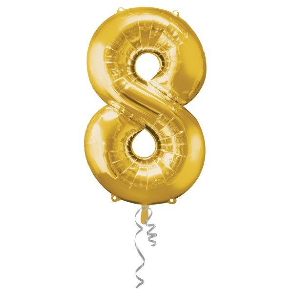 Anagram Supershape Number - 8 Gold