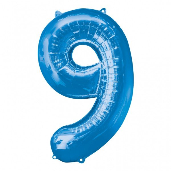 Anagram Supershape Number - 9 Blue